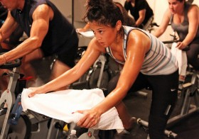 A Spin Class Today Keeps the Calories Away